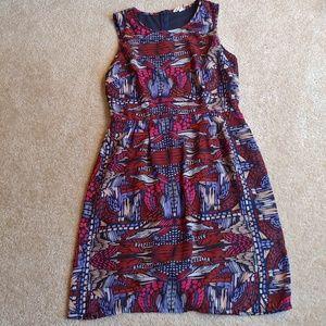 Japna gently worn colorful midi dress